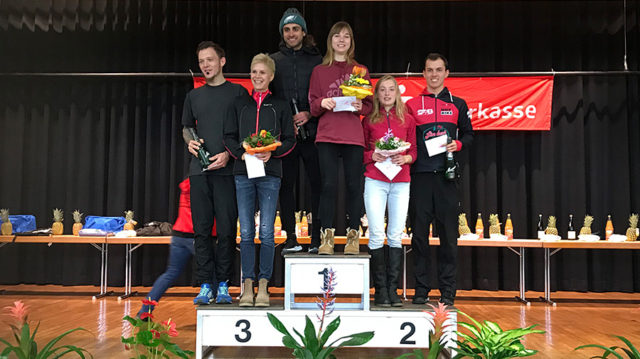 Maren gewinnt den Allmendlauf in Teningen